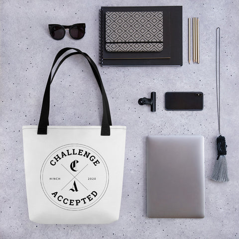 #CHALLENGEACCEPTED Tote bag