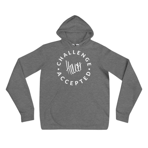#CHALLENGEACCEPTED Slim Fit Unisex hoodie