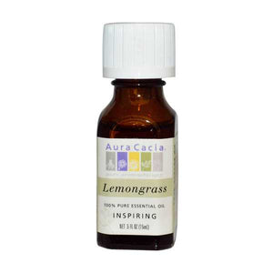 Aura Cacia Essential Oil - Lemongrass - Tetra Meds