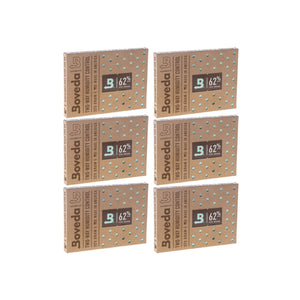 Boveda 2-Way Humidity Control 320 Grams – 62% 6 Pack - Tetra Meds