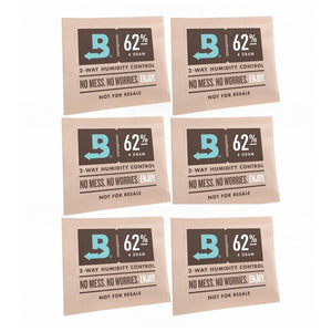 Boveda 2-Way Humidity Control 4 Grams – 62% 6 Pack - Tetra Meds