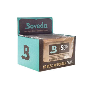 Boveda 2-Way Humidity Control 67 Grams – 58% 12 Pack - Tetra Meds