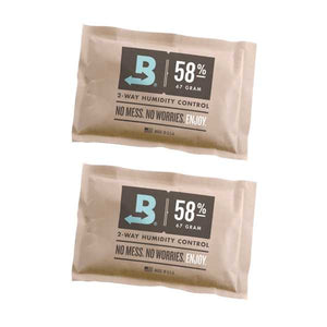 Boveda 2-Way Humidity Control 67 Grams – 58% Two Pack - Tetra Meds
