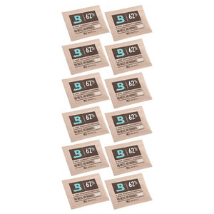 Boveda 2-Way Humidity Control 67 Grams - 62% 12 Pack - Tetra Meds
