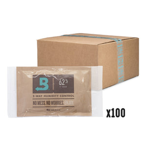 Boveda 2-Way Humidity Control 67 Gram – 62% RH - 100 Count - Tetra Meds