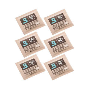 Boveda 2-Way Humidity Control 8 Grams – 58% 6 Pack - Tetra Meds