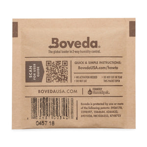 Boveda 2-Way Humidity Control 8 Gram – 62% RH - 300 Count - Tetra Meds