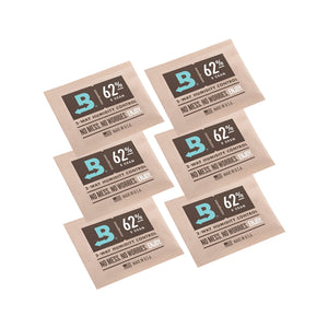 Boveda 2-Way Humidity Control 8 Grams - 62% 6 Pack - Tetra Meds