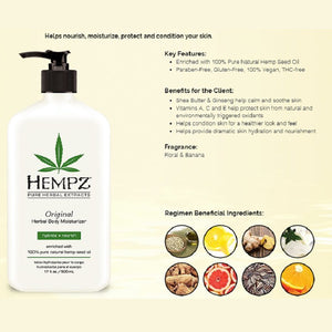 Hempz Original Herbal Body Moisturizer - Combo Pack - Tetra Meds