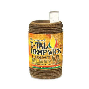I-Tal Hemp Wick Lighter Sleeve - Tetra Meds
