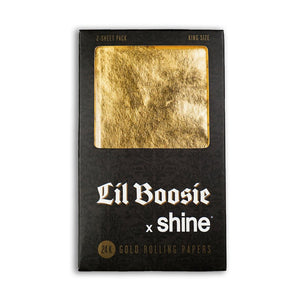 Lil Boosie X Shine King Size 2-Sheet Pack - Tetra Meds