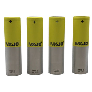 MXJO 18650 3000mAh Rechargeable 35A Battery - 4 Pack - Tetra Meds