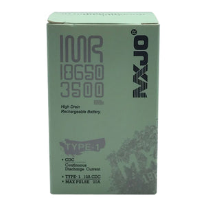 MXJO 18650 3500mAh Rechargeable 20A Battery - 4 Pack - Tetra Meds