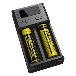 Nitecore i2 Intellicharger Battery Charger - Tetra Meds