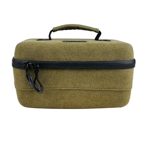 RYOT 4.0L Safe Case Large Carbon Series with SmellSafe and Lockable Technology in Olive