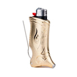 Toker Poker Lighter Accessory - Limited Edition Metallic Coated