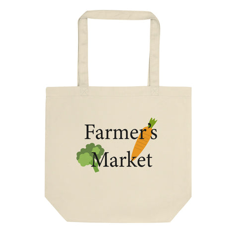 Farmer's Market Eco Tote Bag