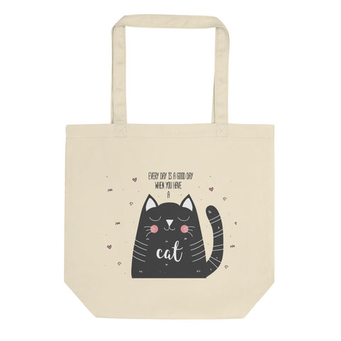 Everyday Cat Eco Tote Bag