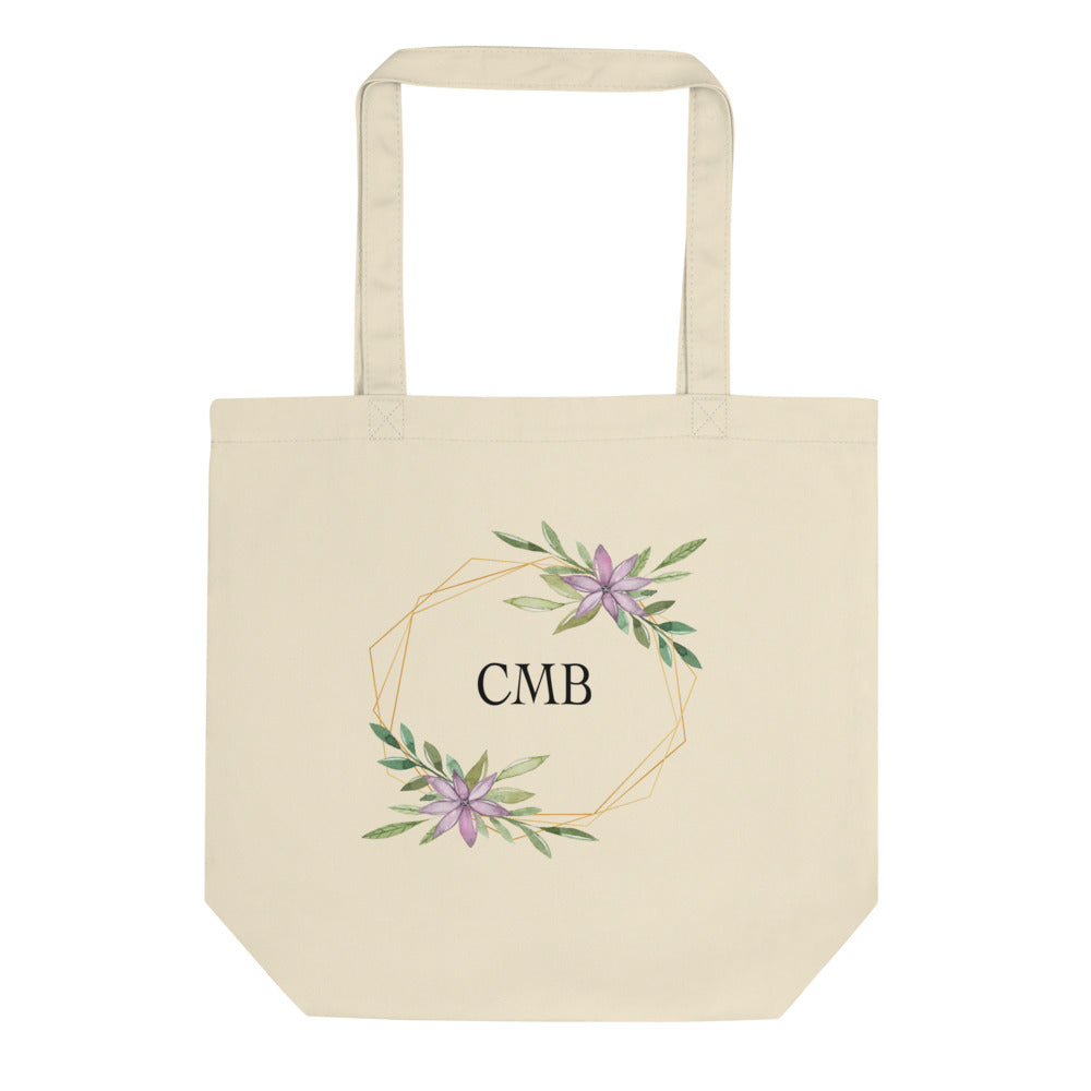 Personalized Monogram Eco Tote Bag