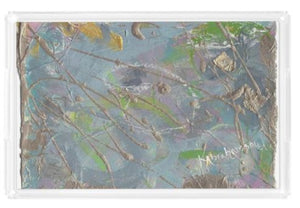 Acrylic Tray- featuring Abstract Artwork 2020 no. 45