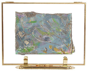 Framed Abstract Painting on Fine Art Paper 2020 no. 45