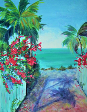 """Gateway to Paradise"" 16"" x 20"" Original Painting"
