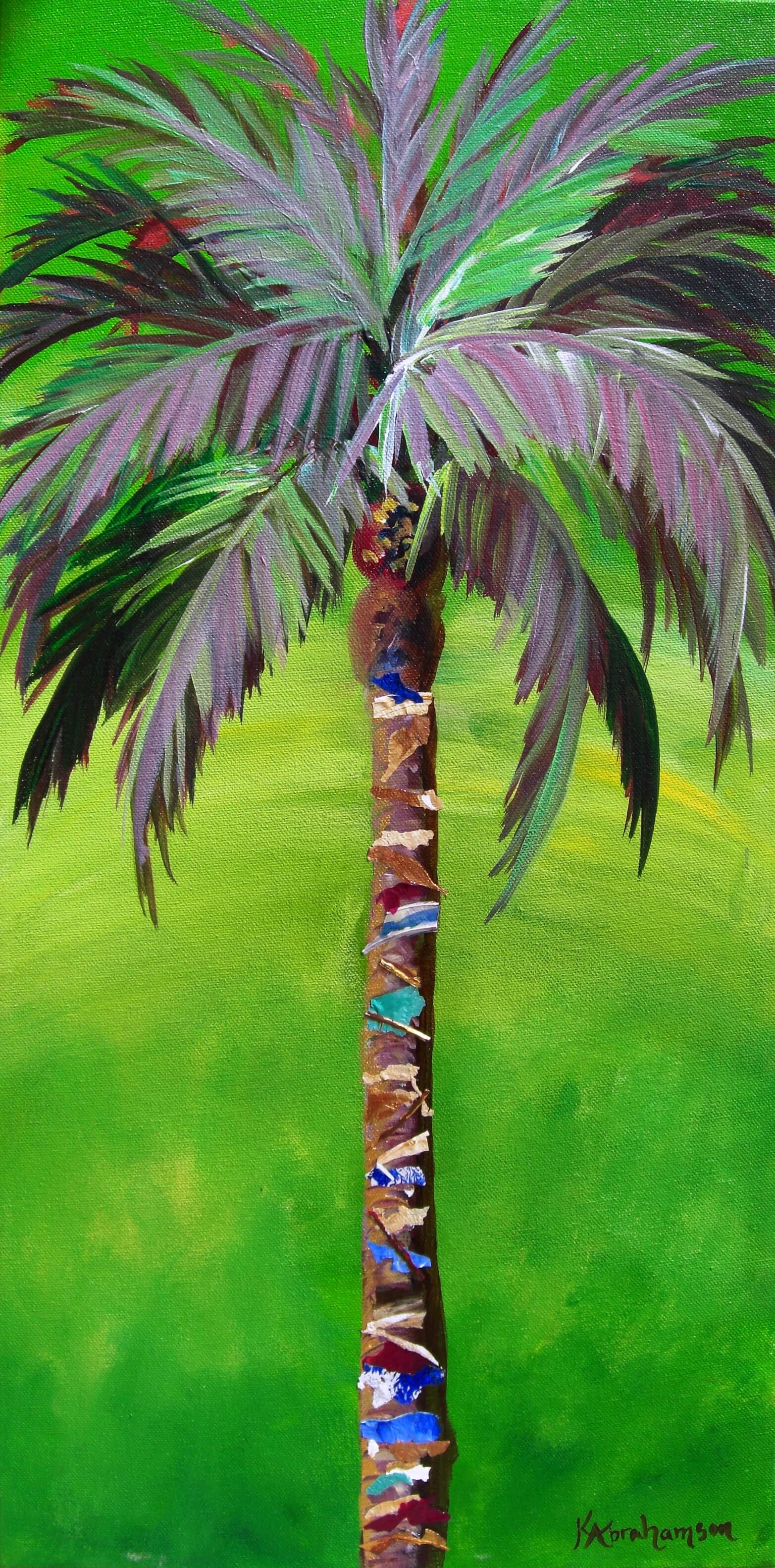 """South Beach Palm III"""