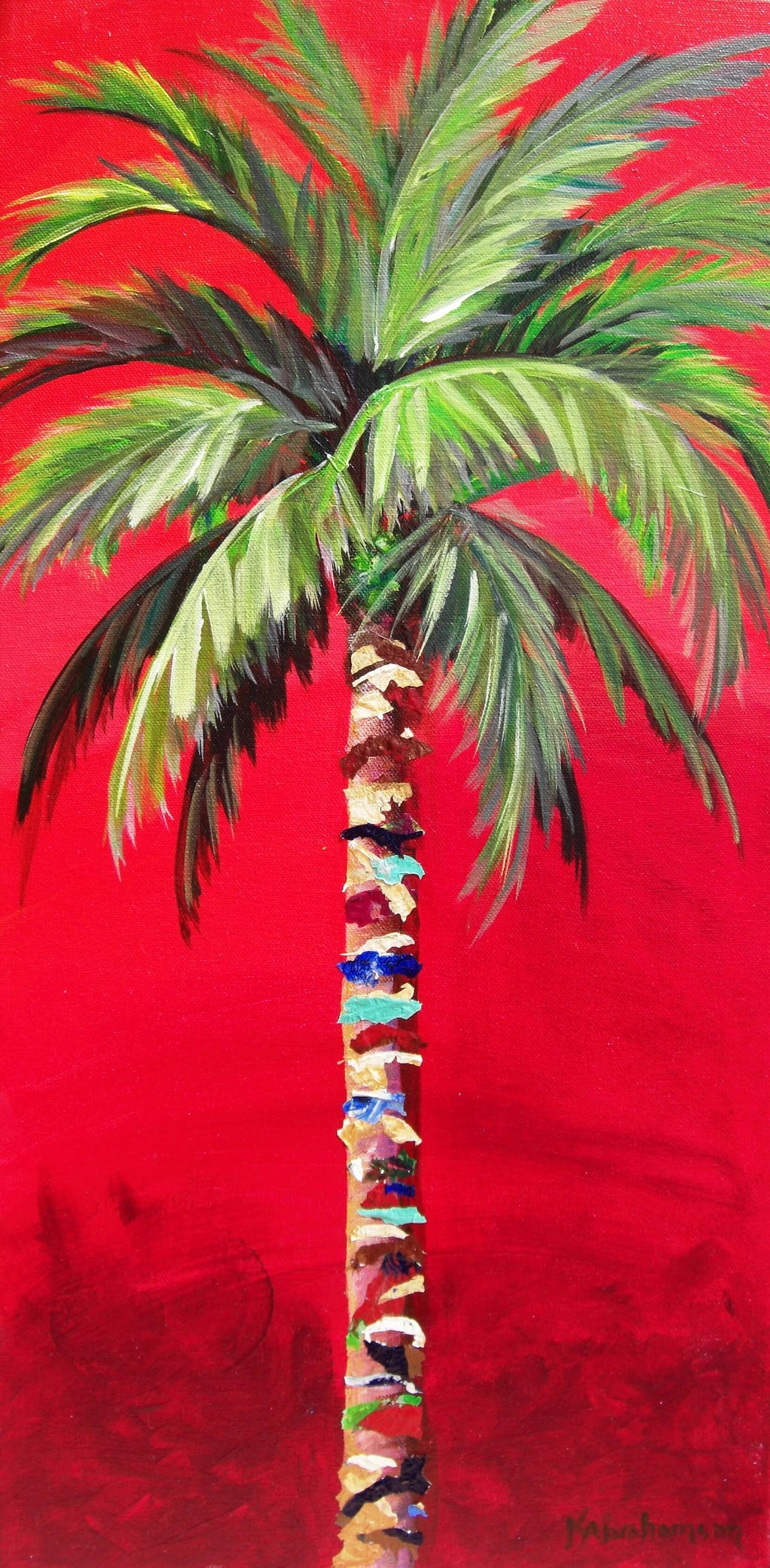 """South Beach Palm II"""