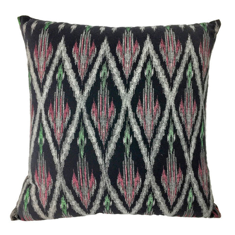 Handmade Tribal Ikat Pillow Cover