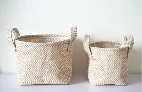 Baskets - Hand Braided Jute