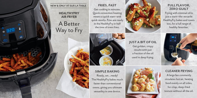 How to use an air fryer.