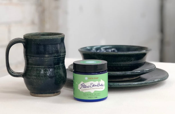 Potters' Skin Butter best lotion for potters
