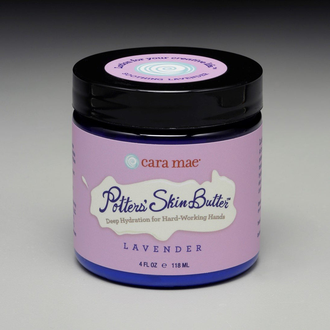 Lavender Potters' Skin Butter Small 4oz Jar
