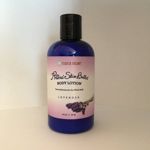 8 ounce lavender body lotion with disc top