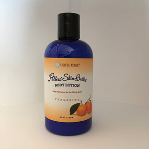 8 ounce tangerine body lotion with disc top