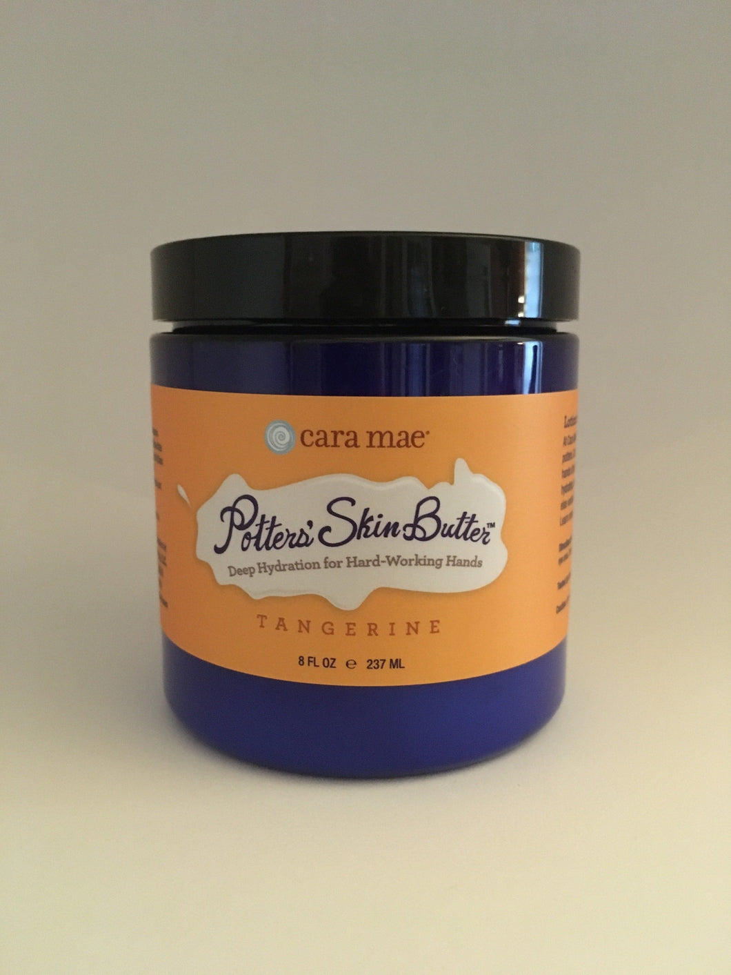Tangerine Potters' Skin Butter Medium 8oz Jar