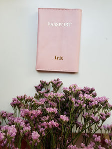 Passport cover- pink