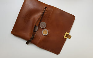 Wallet- S size- brown