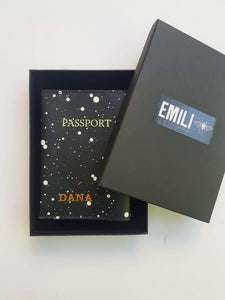 Passport Cover- snow