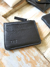 Load image into Gallery viewer, Card Holder - Black Leather