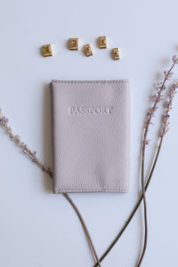 Passport Cover- light purple