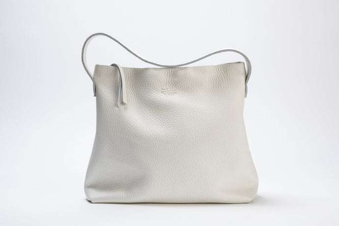 Lewis Bag- white leather