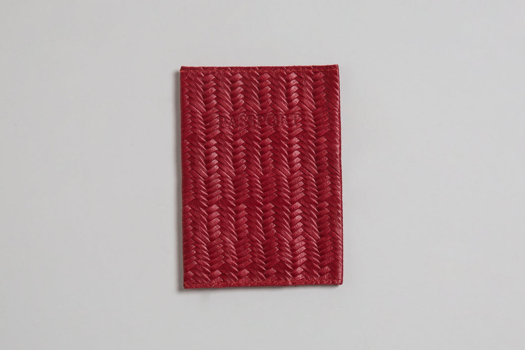 Passport Cover- red