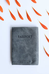 Passport Cover- gray