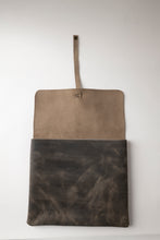 Load image into Gallery viewer, Tallit & Tefillin - Dark Gray Leather