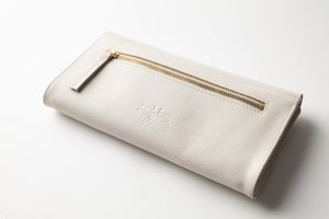 Large Wallet - Stone Leather