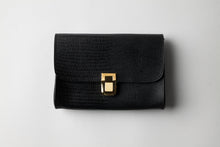 Load image into Gallery viewer, Medium Wallet - Black Leather