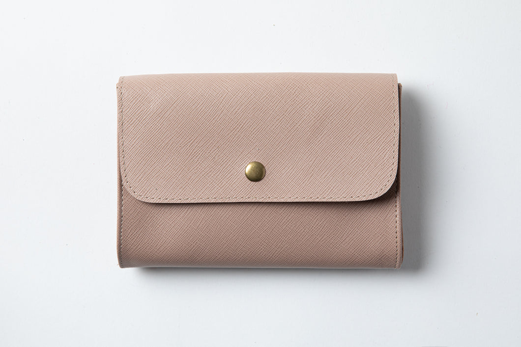 Medium Wallet - Powder Leather