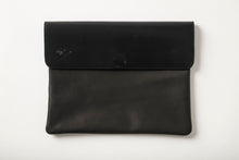 Load image into Gallery viewer, Laptop Case - Black Leather
