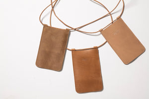 Siri Phone Bag - Brown